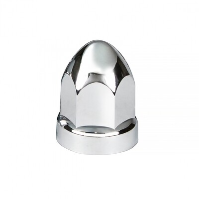 Chrome Plastic Bullet Style Lug Nut Covers
