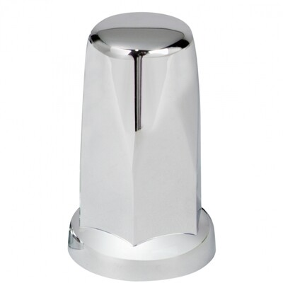 Chrome Plastic 3MM Tall Nut Cover