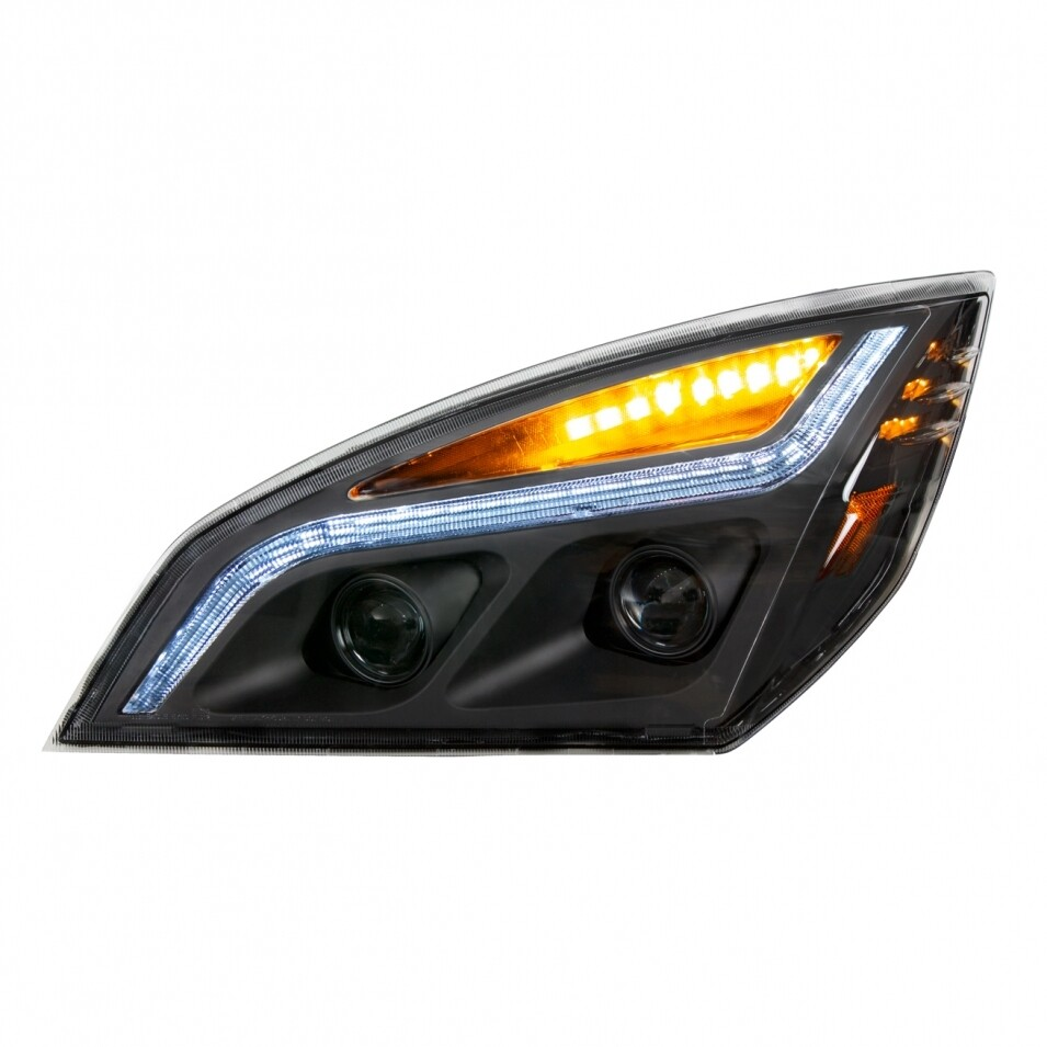 Freightliner Cascadia LED Projection Blackout Headlight