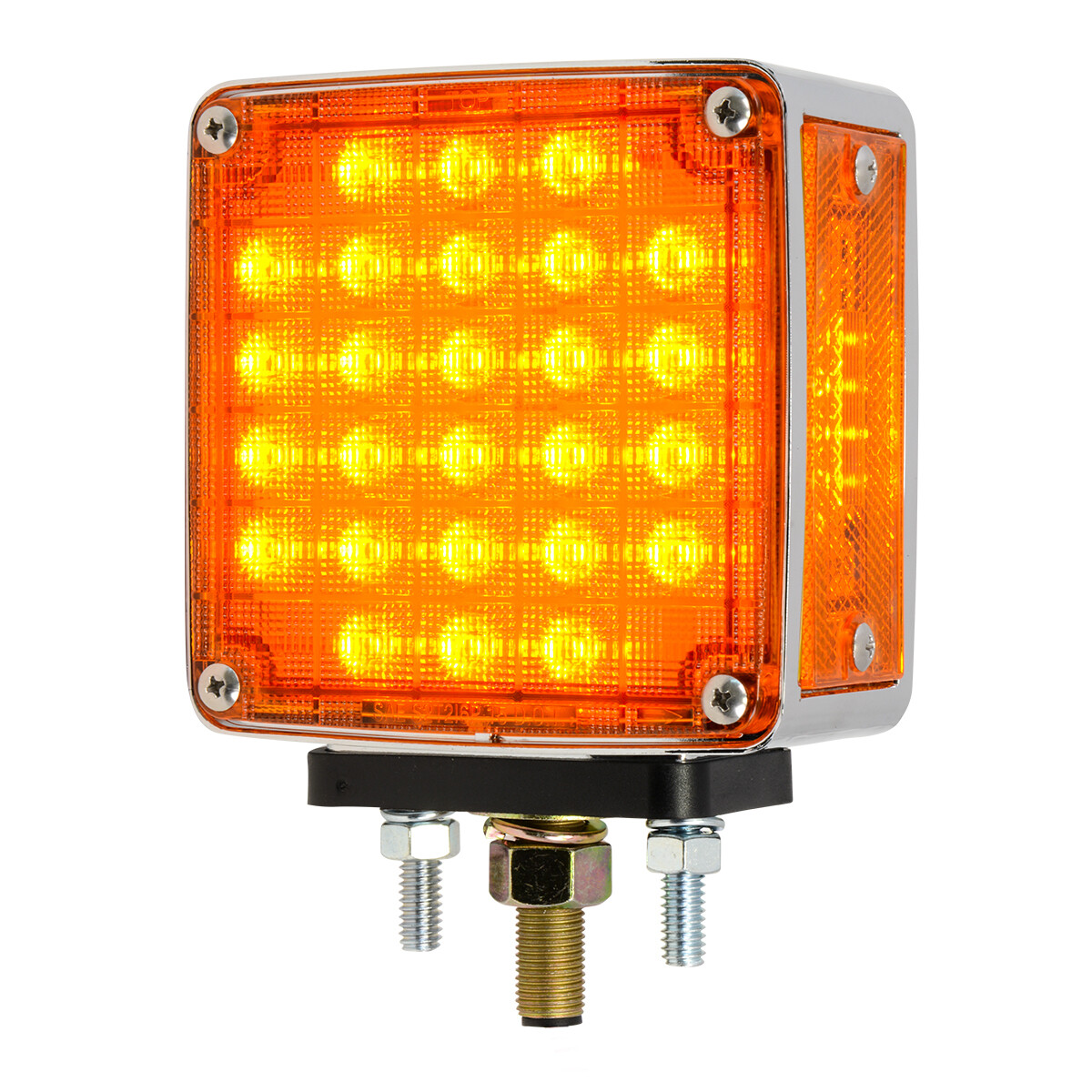 Square Double Face Smart Dynamic LED Pedestal Lights