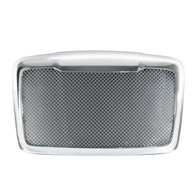 Mesh Chrome Grille w/ Bug Screen for 2008+ Freightliner Cascadia