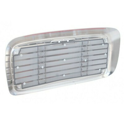 Replacement Grille with Bugscreen - Chrome for Freightliner Columbia 2000-2008