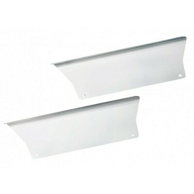 Peterbilt 579 Stainless Steel Lower and Upper Back Step Trim