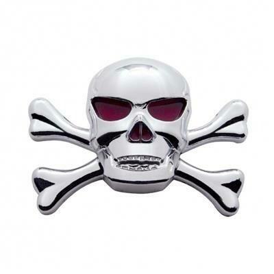 Chrome Skull Emblem