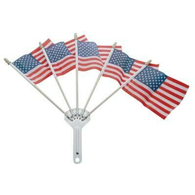 Flag Folder with US Flags