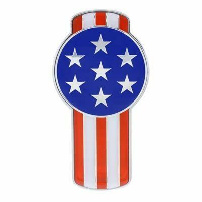 US Flag Emblem Kenworth Style