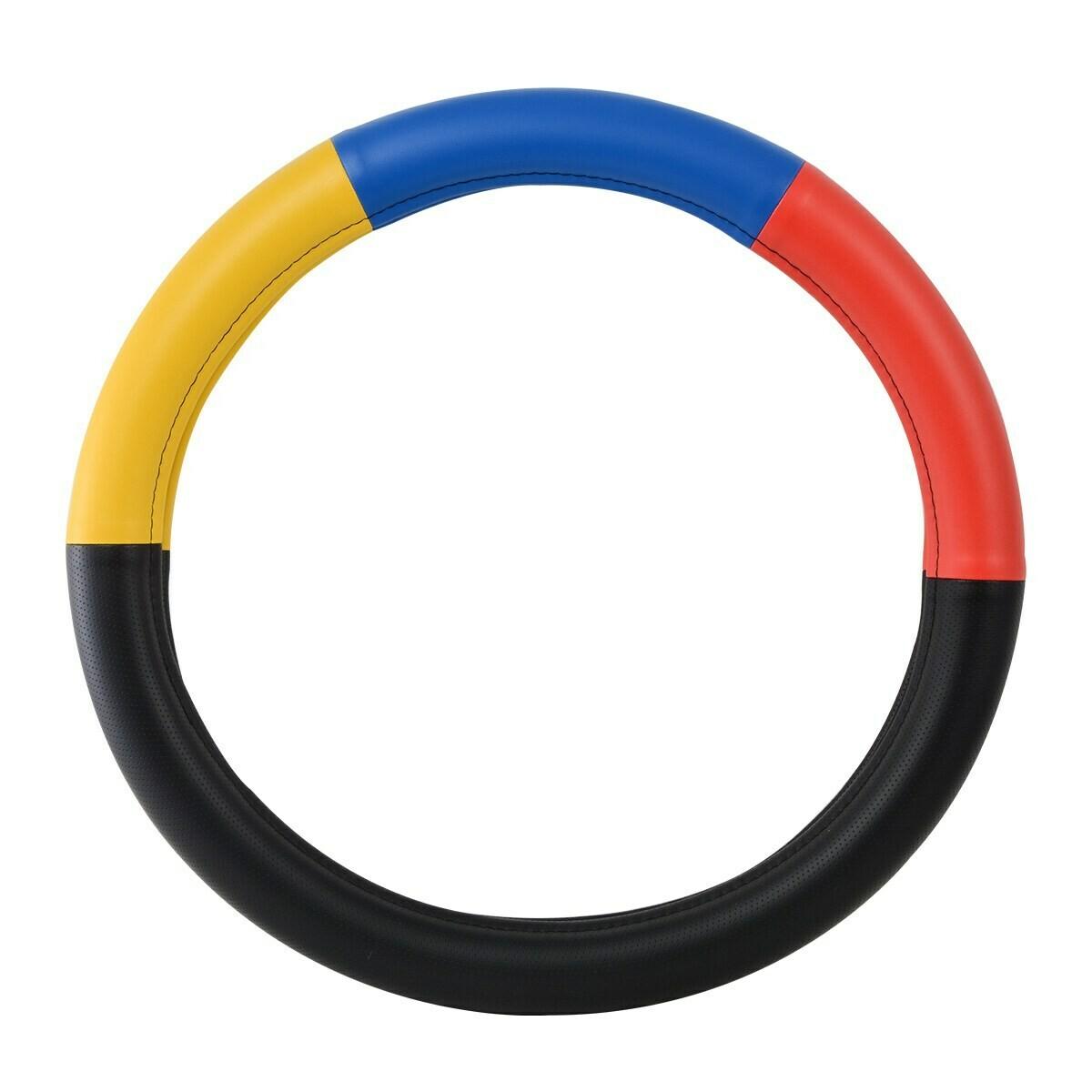 Heavy Duty 18″ Steering Wheel Covers in Deluxe Colorway Series