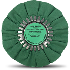 Airway Buffing Wheel Hall Green 8