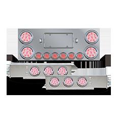 Rear Frame LED Light Panel Kit - Clear Lens