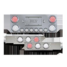 Rear Frame Dual Revolution LED Light Panel Kit