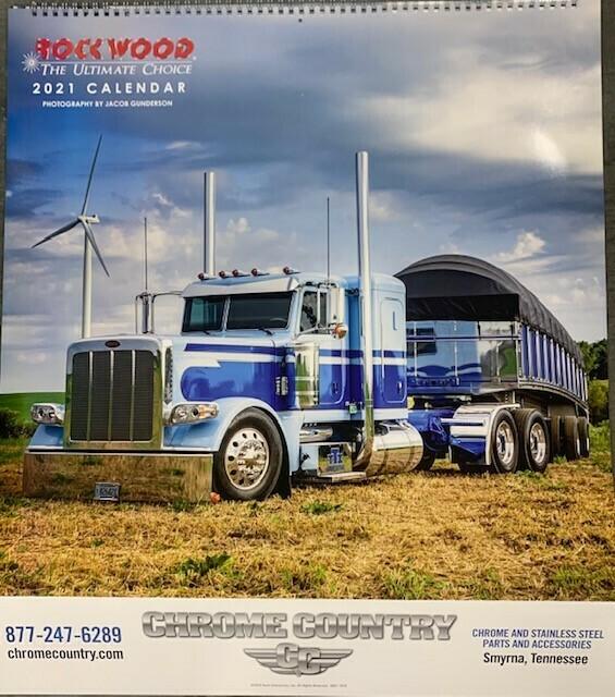 2021 Rockwood Calendar