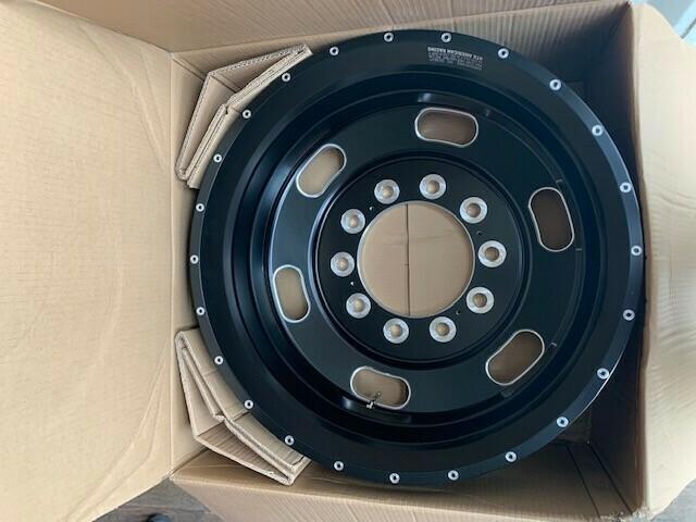 Satin Black 24.5 Rear Wheels