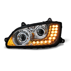 Projection Headlight w/ LED Turn Signal for Kenworth T660