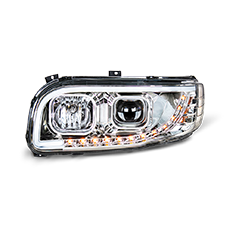 Projector Headlight for Peterbilt 388 and 389