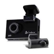 Cobra Dual Channel QHD Dash Camera