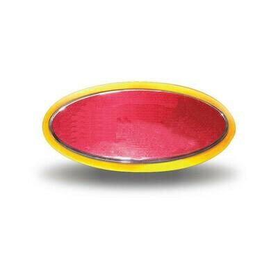 Stealth Amber Peterbilt Logo - Emblem