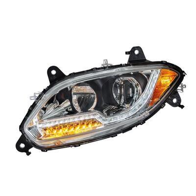Chrome LED Headlight for International LT