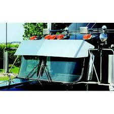 Blind Mount Untie Drop Visor 2007-Newer - Sanded for Kenworth