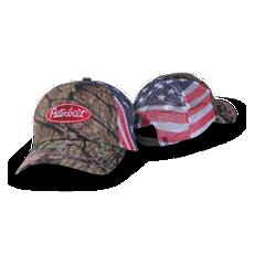 Mossy Oak Camo Flag Mesh Hat