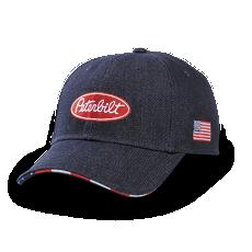 Denim Flag Sandwich Structured Hat