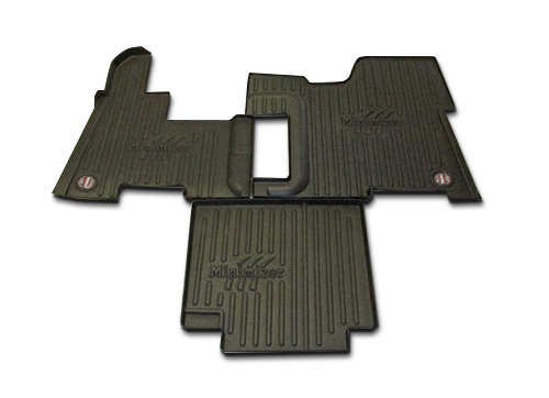 Peterbilt Models (all years) 365, 367, 384, 386, 388, 389; (2006-7 only) 378, 379, 385, 357 Heavy Duty Floor Mat Kit