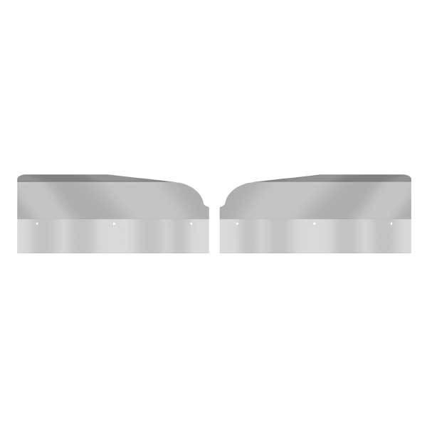 Fender Guards Stainless Steel for Peterbilt 359