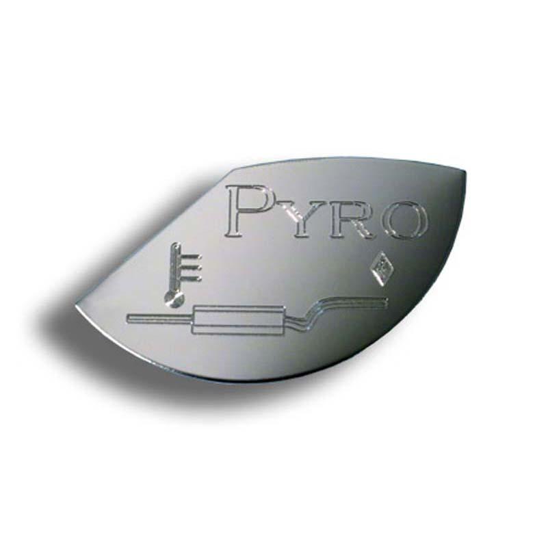 Gauge Emblem-Large Pyro for Kenworth