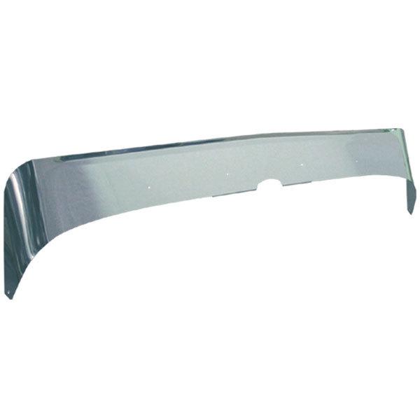 Aeroshield Deflector Stainless Steel for Peterbilt 388/389