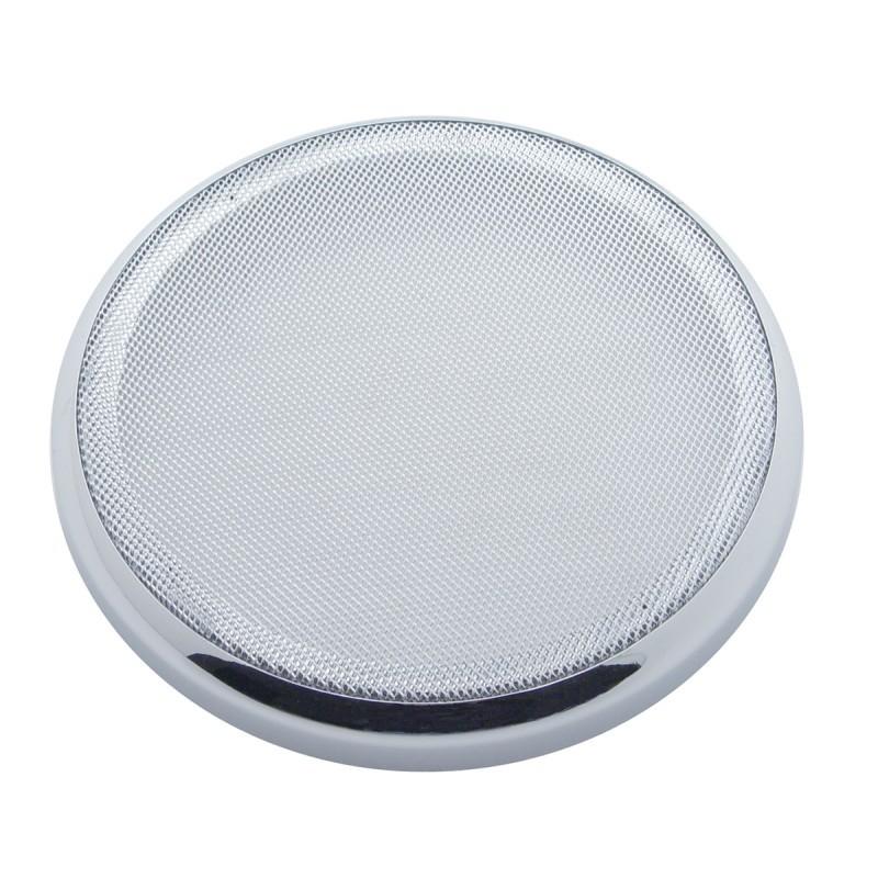 Peterbilt Chrome Plastic Speaker Cover