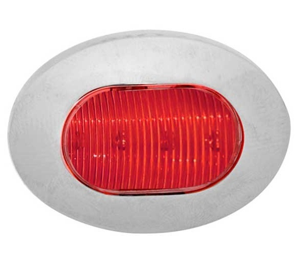 Mini Oval Button LED Turn Signal or Stop/Tail/Turn Light