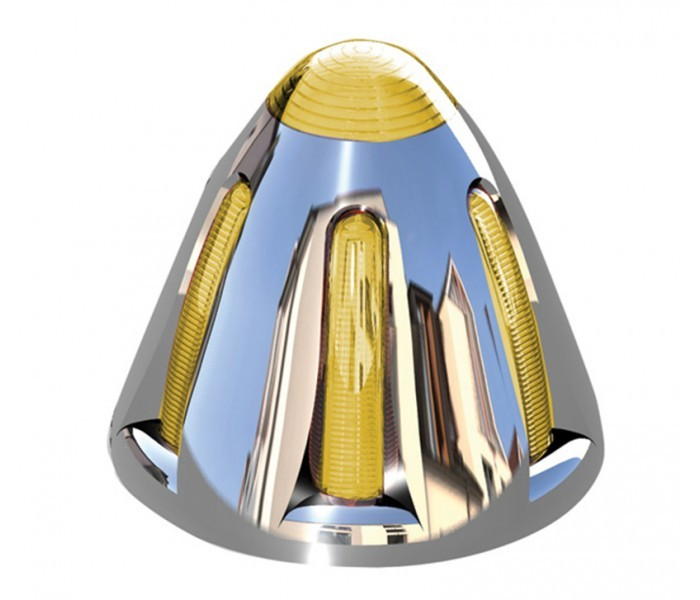 Flatline Peterbilt Cab LED Bullet Light