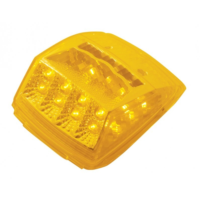 36 LED Rectangular Cab Light with Amber or Clear Lens