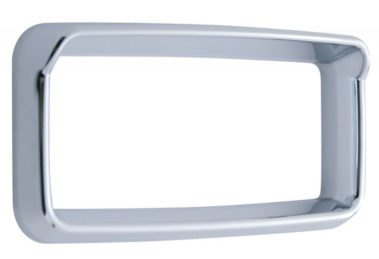 2006+ Peterbilt Center Dash Bezel with or without Visor