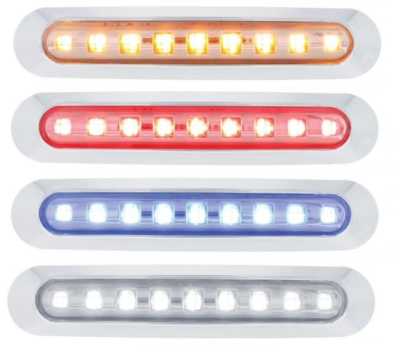 9 LED Clearance/Marker Light Bar in Different Colors