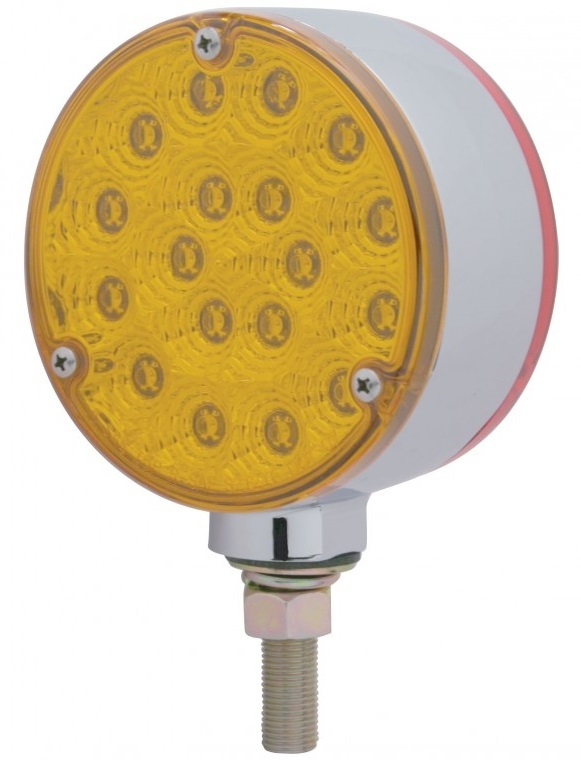 36 LED Reflector Double Face Turn Signal - Single Stud