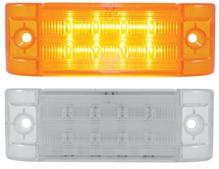 8 SMD LED Rectangular Clearance Marker Light