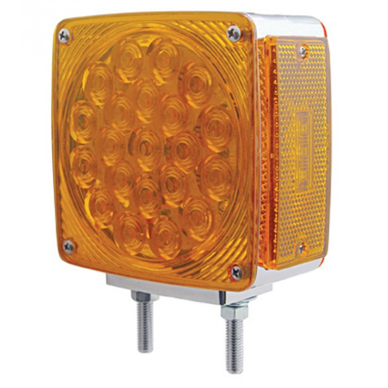 45 LED Reflector Double Face Turn Signal - Double Stud