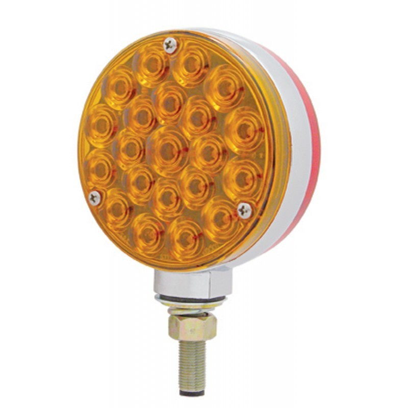 42 LED Double Face Turn Signal - Single Stud