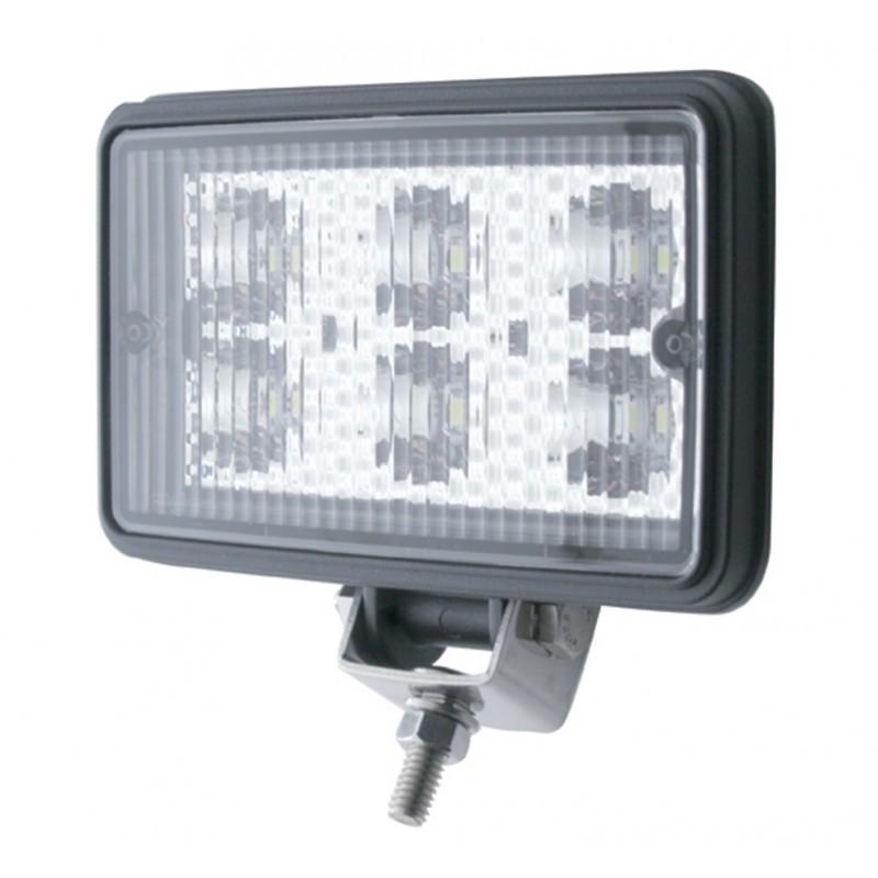 6 High Power 1 Watt LED Rectangular Working Light
