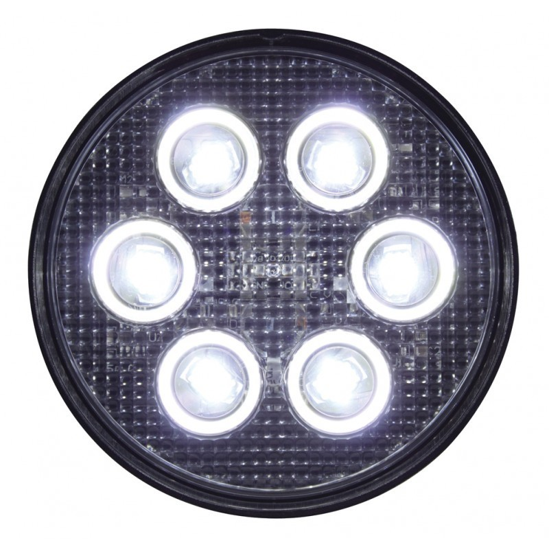 6 High Power 3 Watt 750 Lumen LED Par 36 Light
