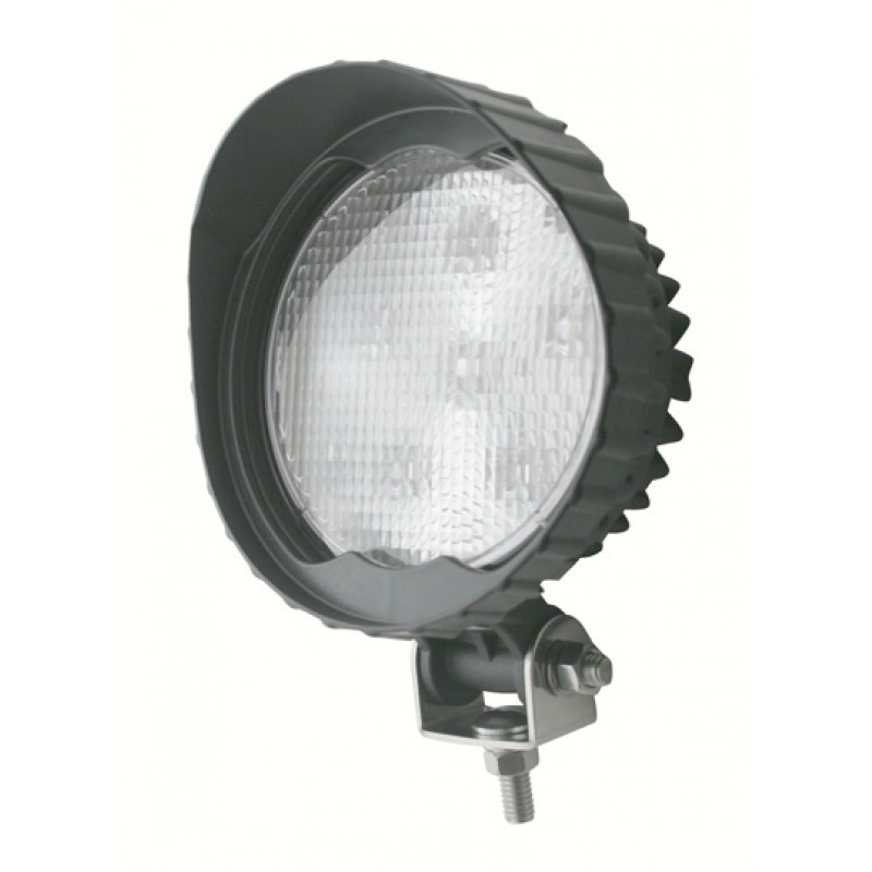 6 High Power Extra Bright 5 Watt 1400 Lumen LED Work Light with Visor