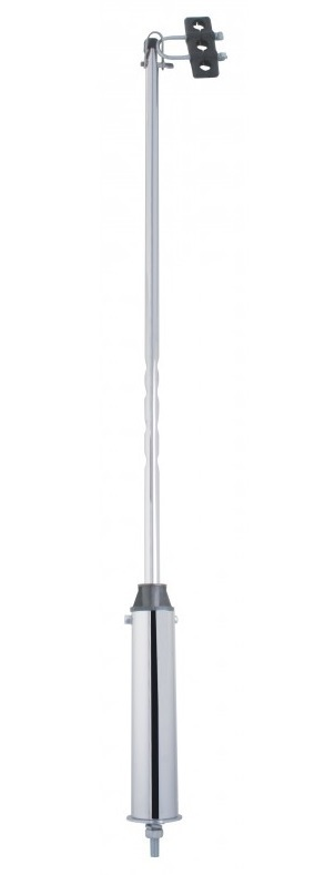 40 Inch Heavy Duty Stainless Steekl Swivel Stick Pipe 3/4 Inch Diameter