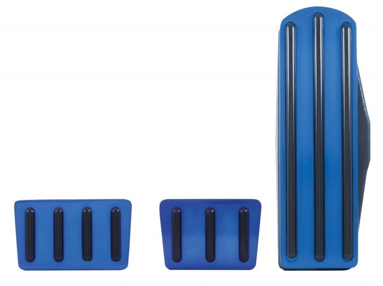 Freightliner Blue Anodized Pedal Set