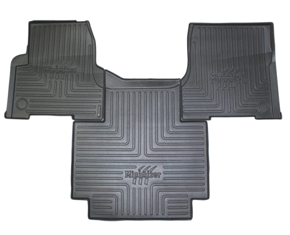 Heavy-Duty Floor Mat Kit for Volvo (auto) Models VNL 300, VNL 430, VNL 630, VNL 670, VNL 730, VNL 780, VT 2006-10