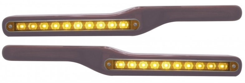 Peterbilt Wood Armrest with LED Light in Different Colors