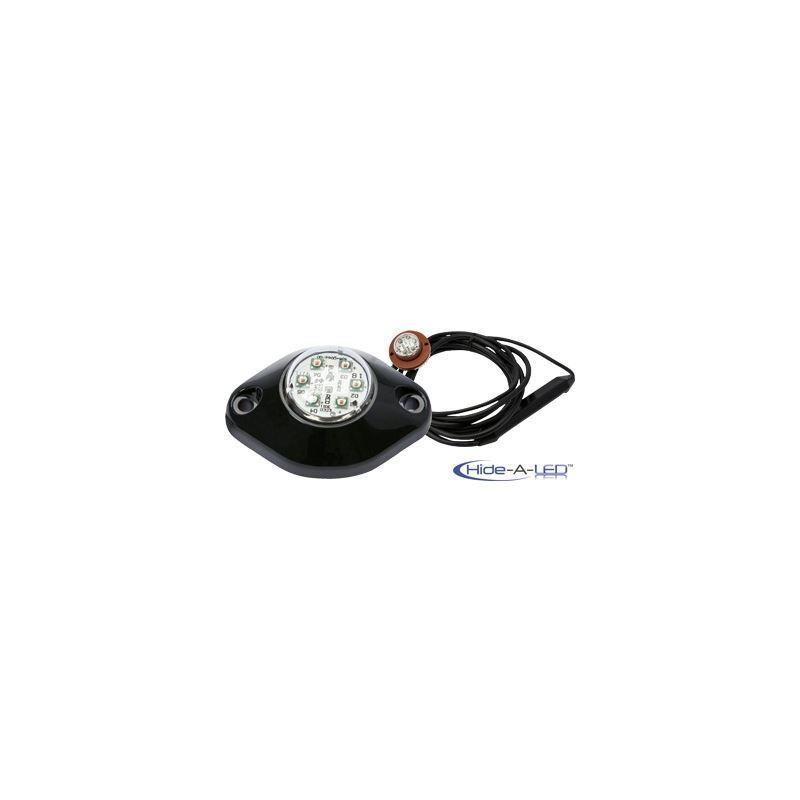 ECCO 2-Bolt Hide-A-LED Amber Directional LED