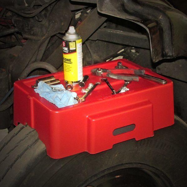 Single Tire Work Bench