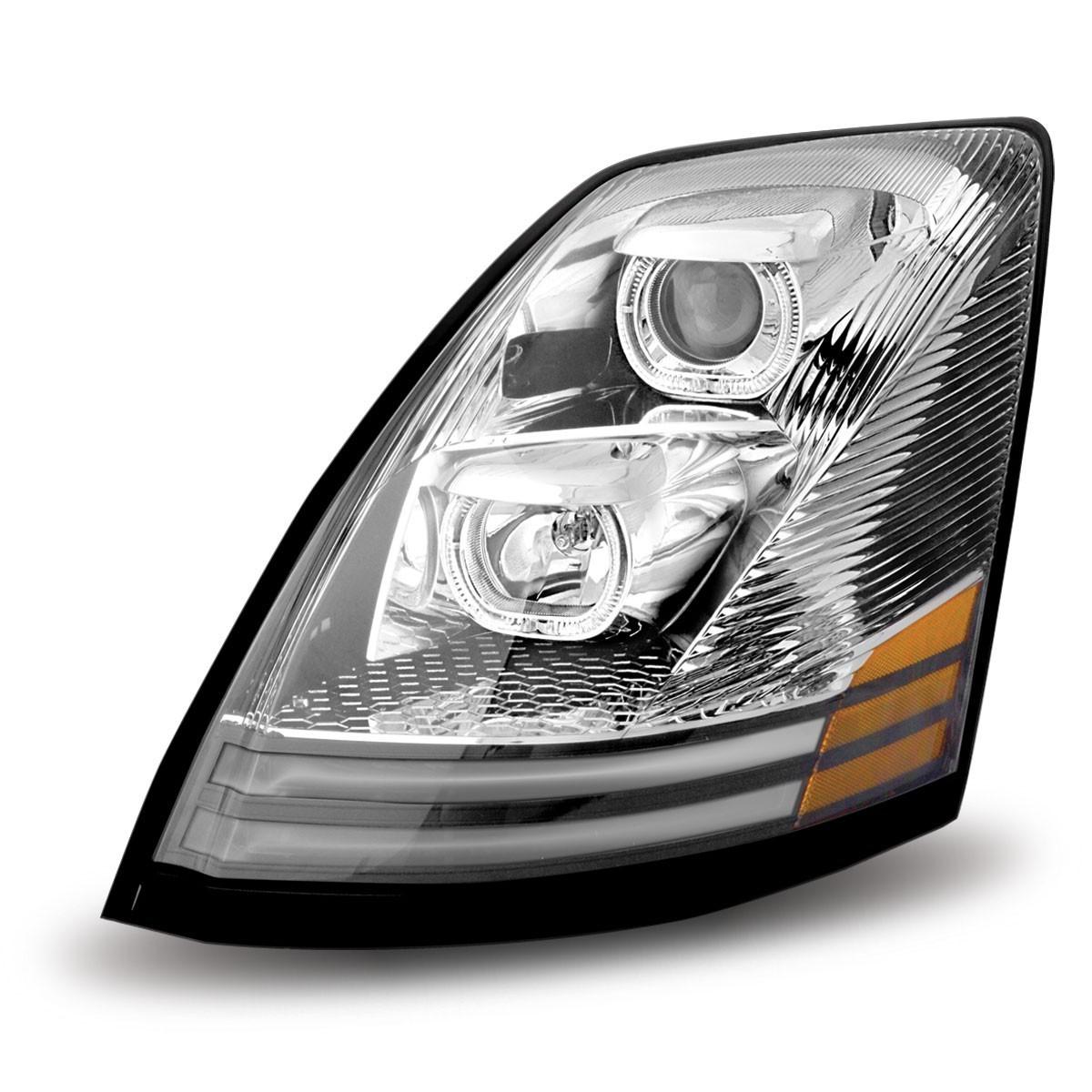 Volvo VNL Halogen Headlight Assembly