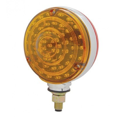 88 LED Double Face Turn Signal Light - Single Stud with Colored or Clear Lens