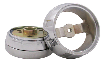 Steering Wheel Hub Kit 3 Hole Chrome for Kenworth/Mack/Peterbilt/Volvo/Western Star